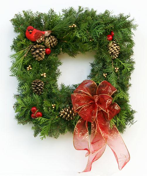 Quany Live Fancy Designer Window K Wreath